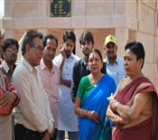 Anandiben Patel At 51 Shaktipeeth (Ambaji)