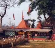 Original temple at Trishota, West Bengal